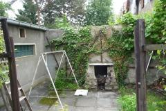 Aussen Grill hintere Garten