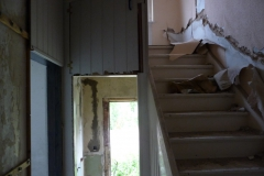 Original Treppe von Erdgeschoss